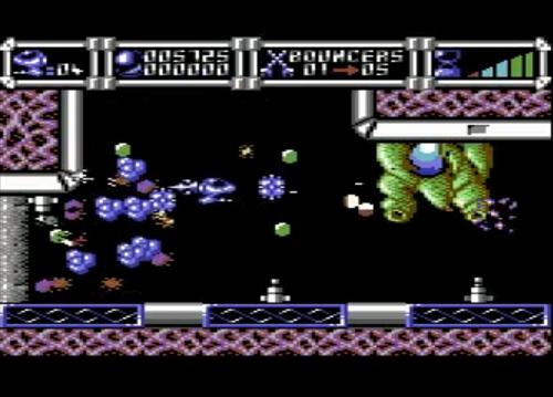 Cybernoid schermata per Commodore 64