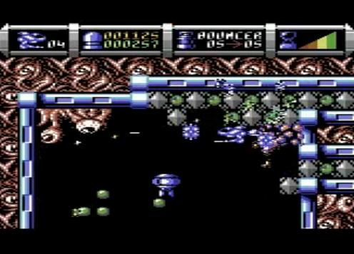 Cybernoid II schermata per Commodore 64