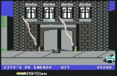 Ghostbusters schermata per Commodore 64